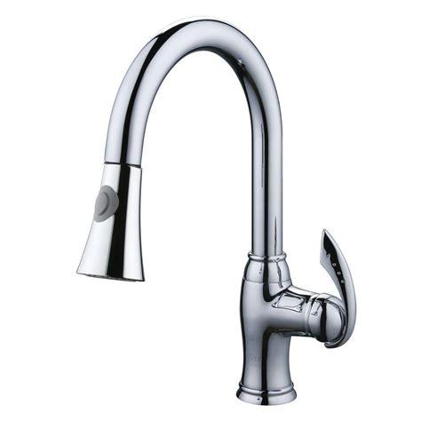 design house kitchen faucets kohler elate single handle pull out sprayer kitchen faucet 6565