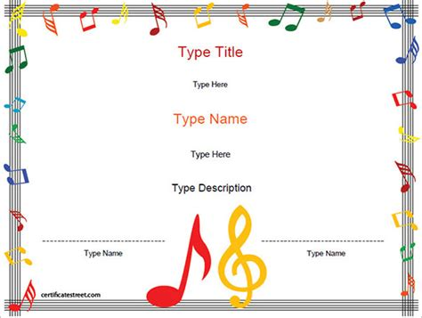 printable  certificate templates word psd ai