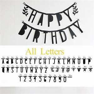 all english alphabet letter number symbol diy With sign with removable letters