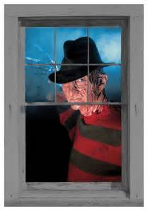 Outdoor Halloween Decorations 2017 by Freddy Krueger Window Cling
