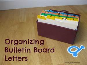organizing bulletin board letters classroom management With letter pin board