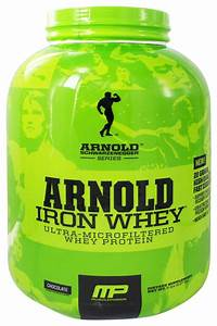 Buy Muscle Pharm - Arnold Schwarzenegger Series Arnold Iron Whey Chocolate