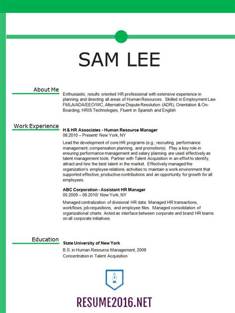 resume formatting tips project scope template