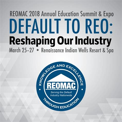 reomac  annual education summit expo program