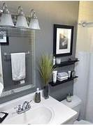 Light Grey Bathroom Accessories by The 25 Best Small Bathroom Makeovers Ideas On Pinterest