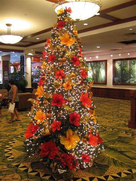 decorations   hawaiian christmas party