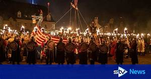 In Pictures  Up Helly Aa Fire Festival Lights Up Shetland  U2013 Stv News