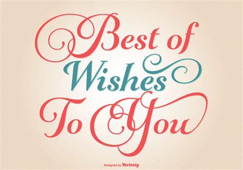 best wish typographic best wishes illustration free