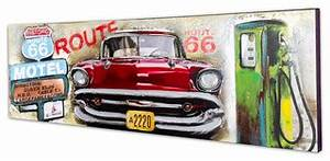 route 66 motor oil painting on canvas With kitchen cabinets lowes with route 66 canvas wall art