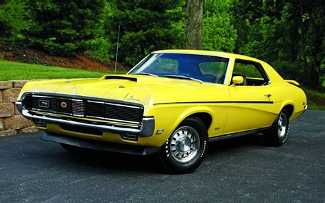 1969 Mercury Cougar design, collectibility, specs