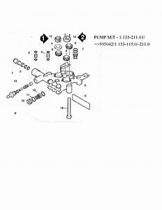 Karcher Model K2200g Power Washer  Gas Genuine Parts