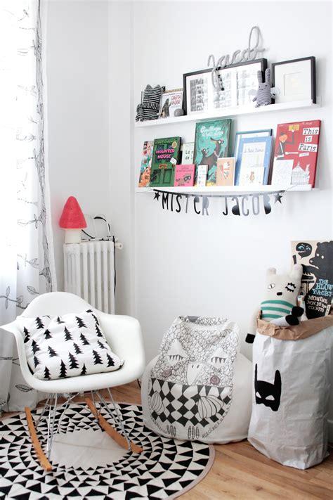 chambre enfant scandinave noir et blanc 2326 h 235 ll 248 blogzine