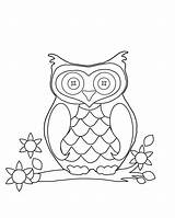 Triplets Coloring Blank Pages Template Owl Sheet sketch template