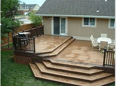 Trex Woodland Brown and Saddle Deck with Woodland Brown