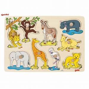 Puzzle En Bois Bébé : puzzle b b animaux d afrique puzzle boutique jouet ~ Dode.kayakingforconservation.com Idées de Décoration