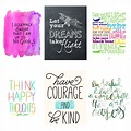Nursery Decor Series: 48 Free Printable Quotes for Kids