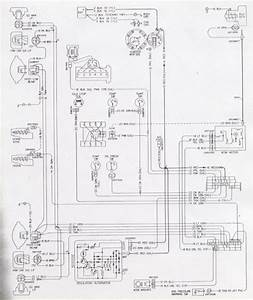 1976 Camaro Engine  U0026 Forward Light Wiring Schematic  61387