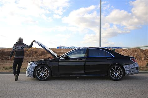 2018 Mercedes-amg S63 Prototype Breaks Down, Shows Us