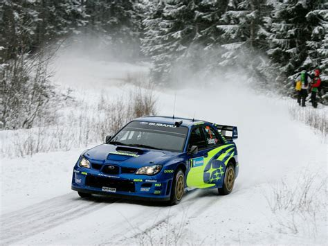 Cool Subaru Wrc Rally Wallpapers Hd Picture