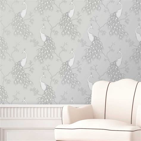 shabby chic feature walls shabby chic floral wallpaper in various designs wall decor new ebay