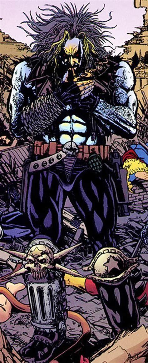 lobo legion legion dc comics character