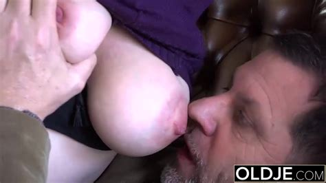 Old Young Amazing Big Tits Girl Fucks Old Man Free Porn
