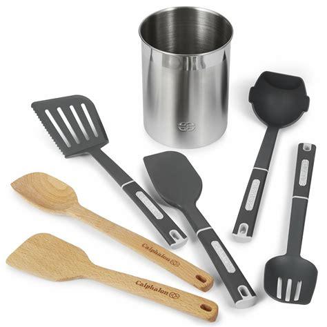 calphalon utensil utensils nylon kitchen mixed piece target gourmet