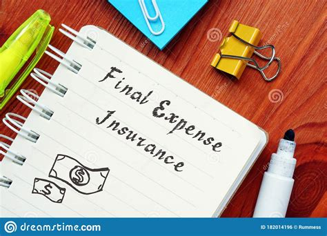 the medical expense chart used for mn spenddown is the same basic guideline used to reduce participation for ltc programs. Business Concept About Final Expense Insurance Definition With Inscription On The Sheet Stock ...