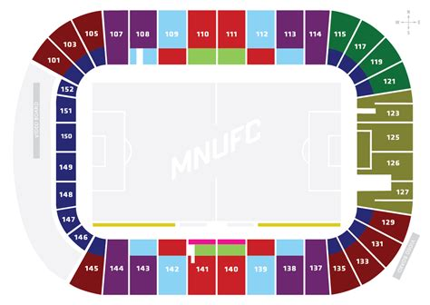 views   seats tcf bank stadium  pluribus loonum