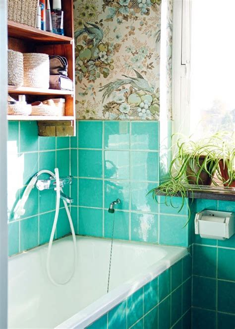 blue green bathroom tile ideas  pictures