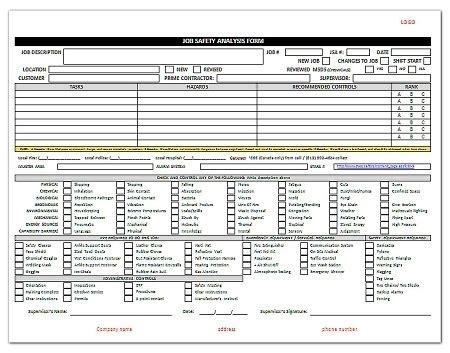 safety analysis template jsa template save btsa co with regard to safety analysis template free maggieoneills