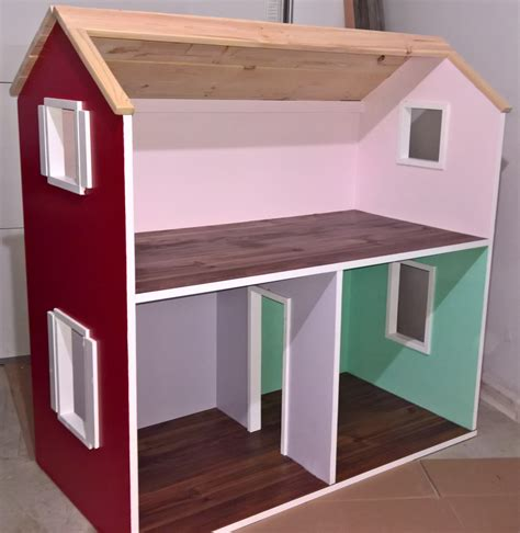ana white  story american girl dollhouse diy projects