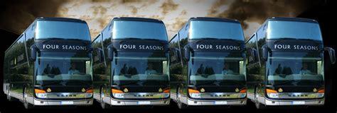 Four Leasing tour coach for hire four seasons travel