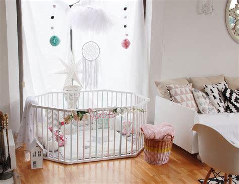 décoration pour chambre de bébé tuto deco customiser un parc pour bebe