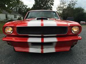1966 Ford mustang gt 350 clone show car custom red - Classic Ford Mustang 1966 for sale