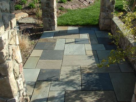 flagstone base stone dust patio home design ideas and pictures