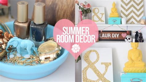 diy easy summer room decor laurdiy