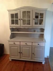 Meuble Buffet Cuisine : vaisselier en pin repeint relooking meubles pinterest vaisselier repeindre et pin ~ Teatrodelosmanantiales.com Idées de Décoration