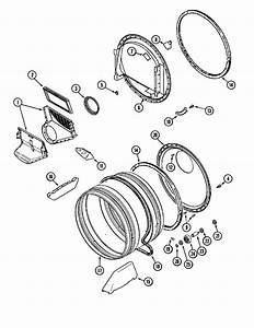 Tumbler Diagram  U0026 Parts List For Model Mdg7400aww Maytag