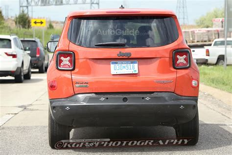 2017 Jeep Patriot Mule by 2017 Jeep Patriot Mule Spied Testing With Renegade