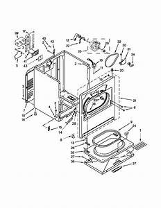 Whirlpool Model Wed5000dw1 Residential Dryer Genuine Parts