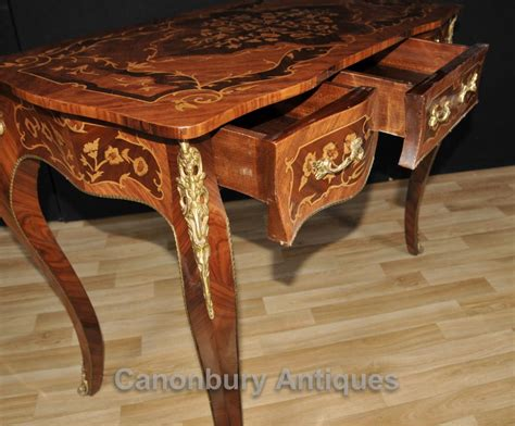 tables bureau louis xvi desk bureau plat writing table marquetry