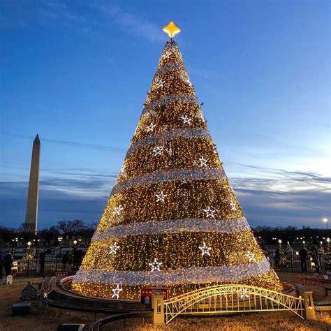 mount washington christmas tree washington dc winter vacation itinerary washington org