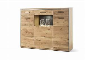 Highboard Eiche Massiv : dreams4home highboard massiv adeline ast eiche bianco anrichte schrank kommode sideboard ~ Sanjose-hotels-ca.com Haus und Dekorationen