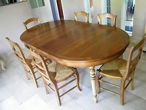 Chaise Moderne Avec Table Ancienne : rajeunir nos meubles style louis philippe en merisier faites laquer vos meubles en gris ~ Teatrodelosmanantiales.com Idées de Décoration