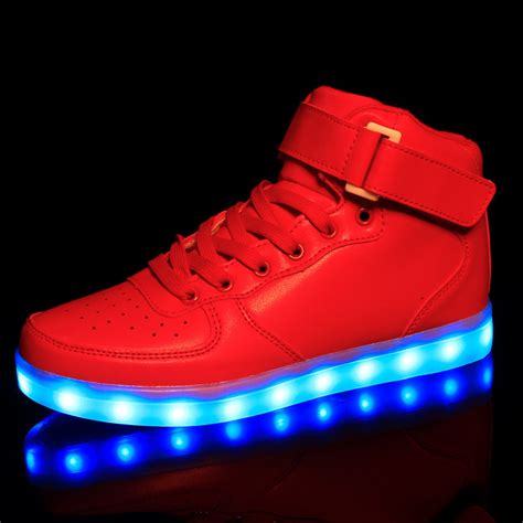 led light up shoes in stores aliexpress com buy size 25 46 kids light up shoes for