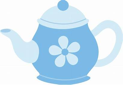 Teapot Clipart Flower Clipartpanda Tea Clip Pot
