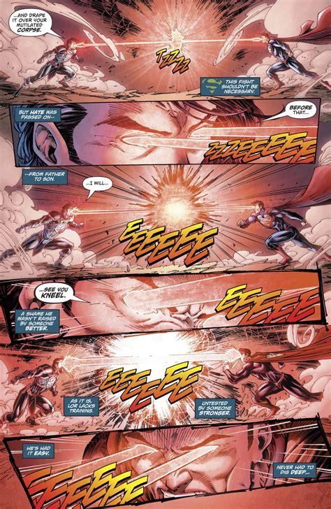 zod superman vs lor rebirth comicnewbies never