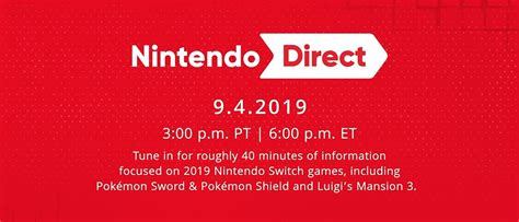 nintendo direct scheduled for september 4 sidequesting