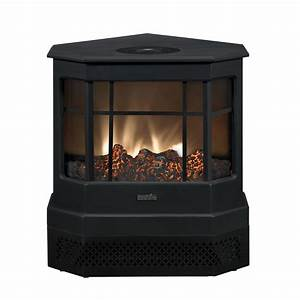 Shop Duraflame 23 43-in Black Electric Stove at Lowes com